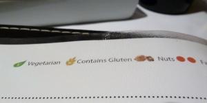 menu contains gluten