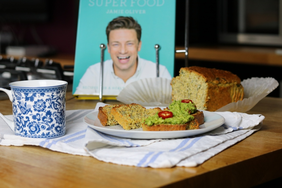 Jamie Oliver super-food protein loaf