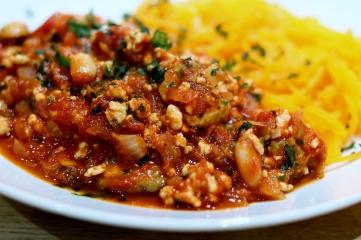 Turkey Bolognese - delish!
