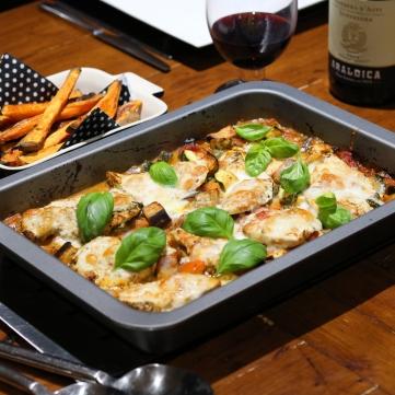 Italian chicken and roasted veg tray bake