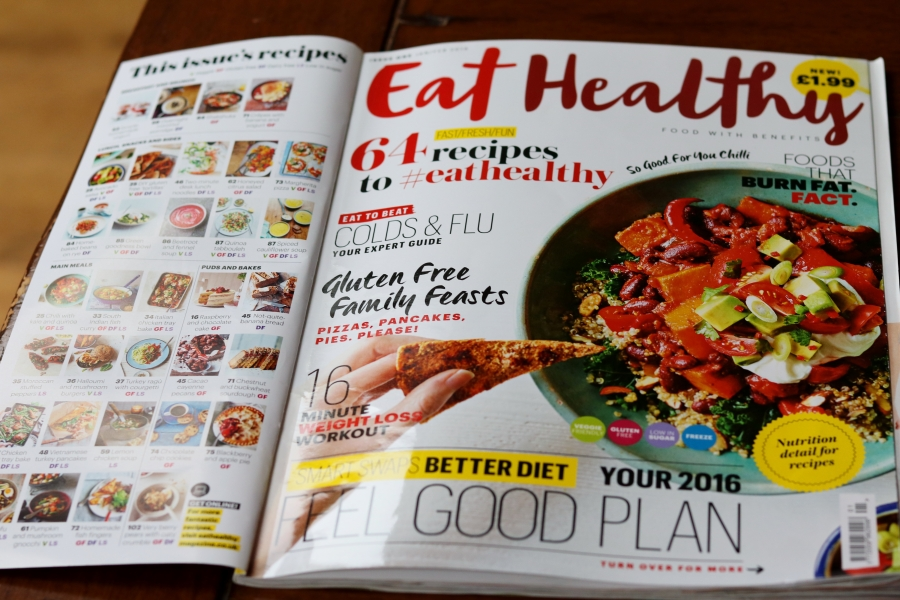 Issue One of Eat Healthy Mag