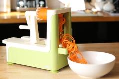 Spiralizing carrot
