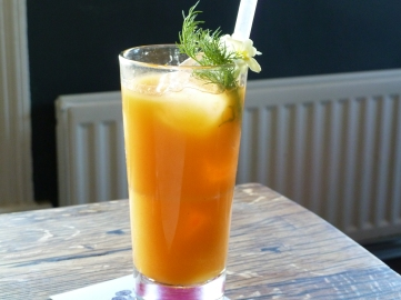 Another infused drink that blew our minds...
